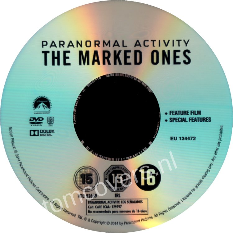 paranormal activity the marked ones cover - photo #23