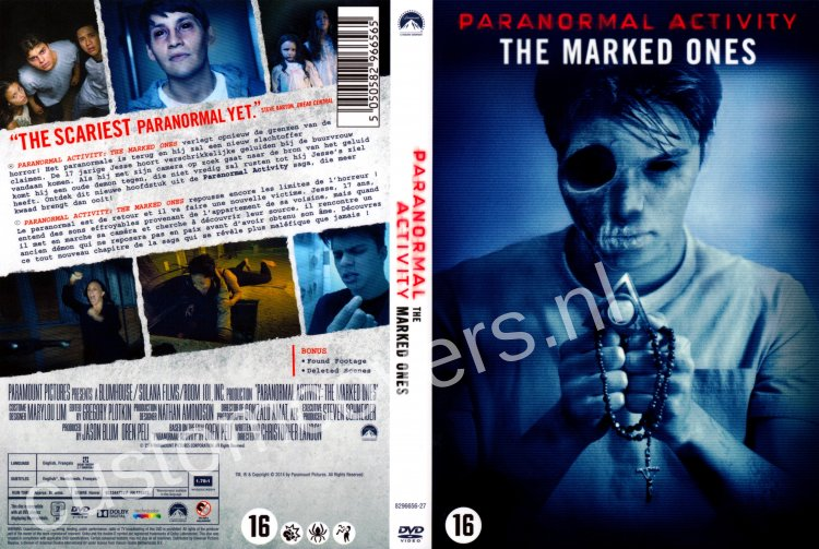 paranormal activity the marked ones cover - photo #5