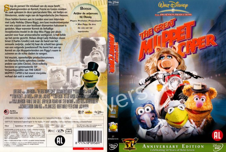 Muppets The Great Muppet Caper An Original Soundtrack Recording