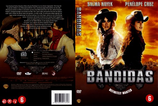 Bandidas DVD Cover http://customcovers.nl/retail-cover/dvd/bandidas