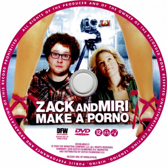 Zack And Miri Make A Porno Dvd Cover 42