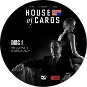 House Of Cards - Seizoen 2 - Disc 1