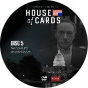 House Of Cards - Seizoen 2 - Disc 5
