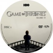 Game Of Thrones - Season 5 - 14mm - Disc 1