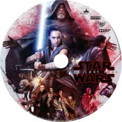 Star Wars The Last Jedi Label