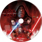 Star Wars The Last Jedi Label V.2